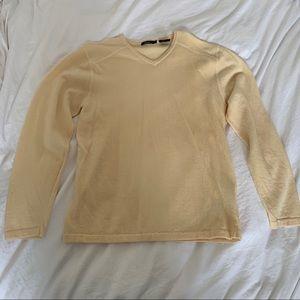 Bossini 100% Merino Wool V-Neck Sweater